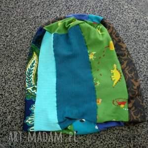 patchwork czapka patchworkowa kolorowa damska