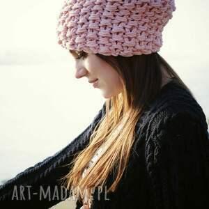 czapki różana czapka #34