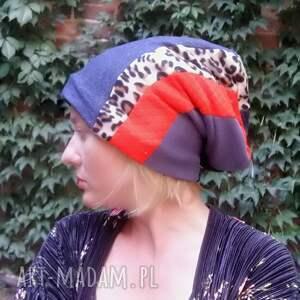 frapujące czapki czapka smerfetka długa wzory