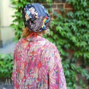czapki czapka smerfetka długa wzory