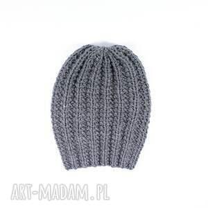 wyjątkowe czapki czapka szara