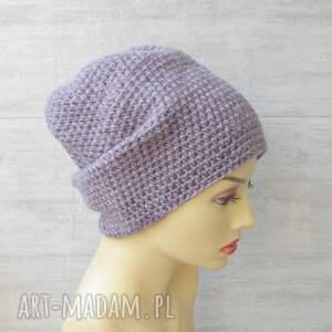 czapki kolorowa czapka szydełkowa oversize