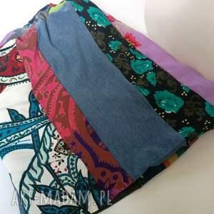 etno czapki czapka szyta patchworkowa kolorowa