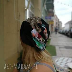 czapki patchwork czapka szyta patchworkowo boho folk