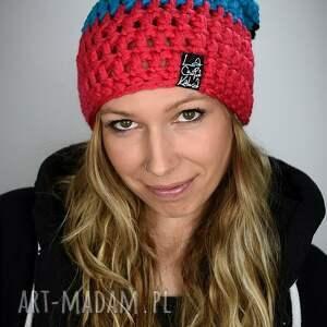 atrakcyjne czapki kolorowa czapka tricolour