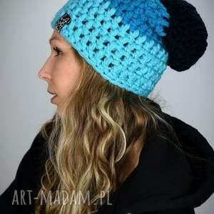 czapka na snowboard tricolour