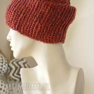 czapki wełna czapka #31