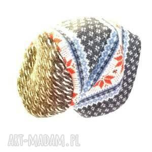 norweska czapki czapka wełniana damska męska zimowa