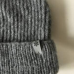 czapki wool czapka wełniana na drutach zimowa