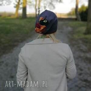 folk czapki czapka wiosenna damska