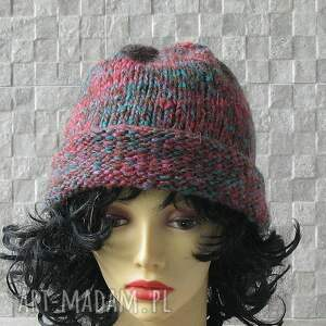 wyjątkowe czapki czapka wykonana ręcznie. beanie