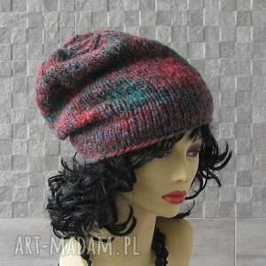 wyjątkowe czapki zima czapka wykonana ręcznie. beanie