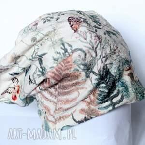 czapki czapka z francuskiego materiału