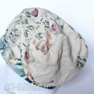 dzianina czapki czapka z francuskiego materiału
