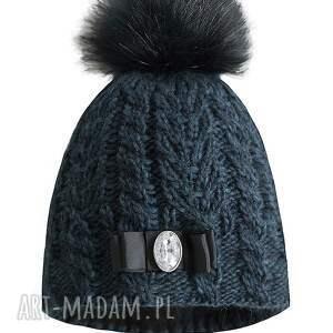 unikalne czapki czapka z kokardą