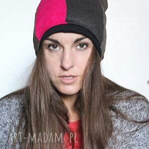 czapki czapka zimowa patchworkowa ciepła