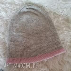 czapki druty czapka zimowa