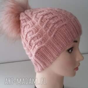 sploty czapki czapka zimowa ella z dużym