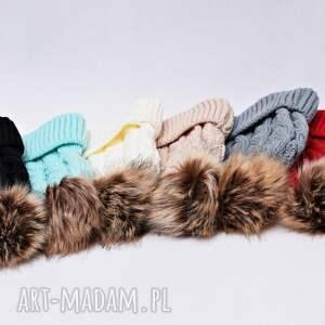 czapki czapka zimowa z pomponem