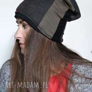 czapki patchwork czapka zimowa patchworkowa ciepła