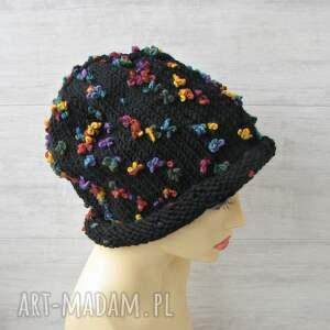 unikalna czapka zimowa fantazyjna