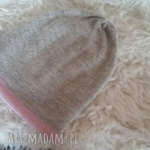 druty czapki czapka zimowa