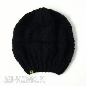 czapa czapki czarna