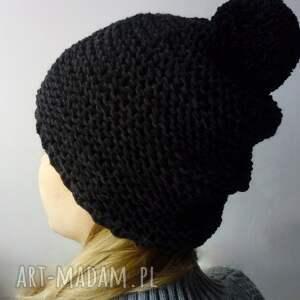 oryginalne czapki merino czarna czapka