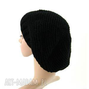 beret czapki czarny