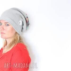 czapki czapka obwód 59 60, ciepła i miła