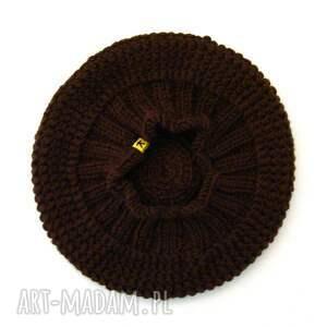 na święta prezent czapka czekoladowy:) beret