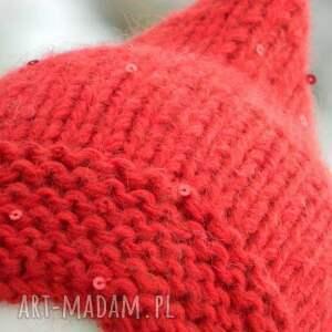 nietuzinkowe czapki baśniowa czerwony kapturek * czapa elf