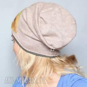 handmade czapki wełna czesanką filcowane wełniane
