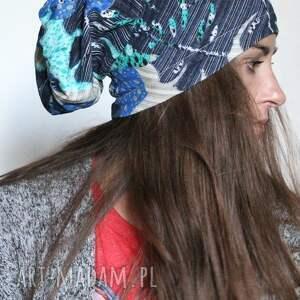 czapki damska dzianinowa czapka mała
