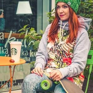czapki jesień produkt robiony ręcznie na drutach, w poznaniu