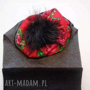 atrakcyjne czapki czapka folk design aneta larysa