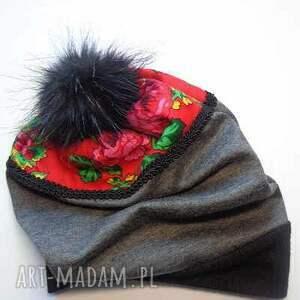 czapki czapka folk design aneta larysa