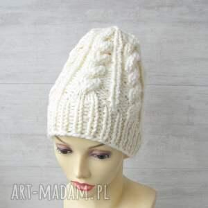 intrygujące czapki zimowa czapka gruba alpaka