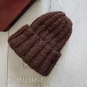czapki czapka alpaka gruba zimowa