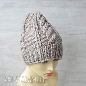 zimowa czapka czapki gruba alpaka