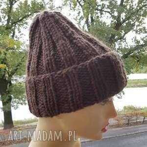 czapka alpaka czapki gruba zimowa