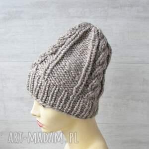 czapki zimowa czapka gruba alpaka