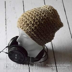 modne czapki czapka gruba duża