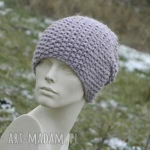 czapka alpaca czapki gruba z alpacą ciepła
