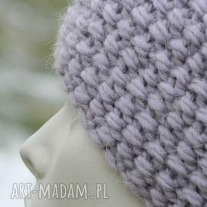 Aga made by hand czapki czapka alpaca gruba z alpacą ciepła