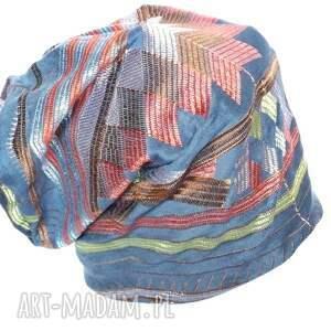 wyjątkowe czapki czapka haftowana wzorzysta orientalna