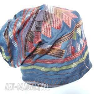 czapka czapki haftowana wzorzysta orientalna