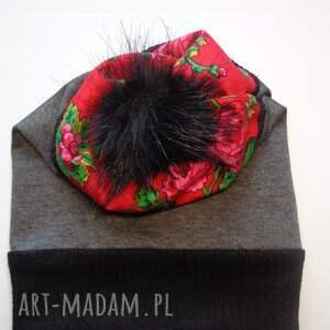 FolkDesign handmade czapki czapkafolk design aneta larysa knap