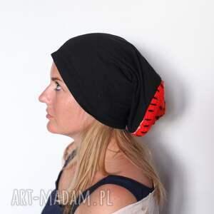 ręcznie wykonane czapki czapka 59 61cm, polecam