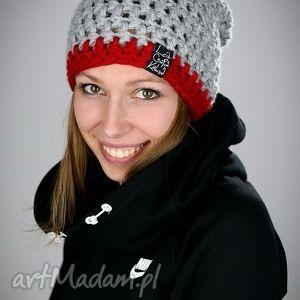 handmade czapki czapka zimowa ✔ informacje ogólne: dwukolorowa